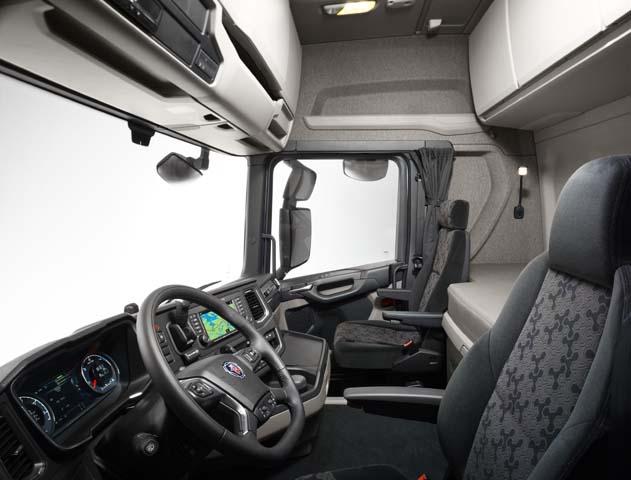 Los primeros detalles del nuevo scania r y scania s 2016 for Interieur camion scania
