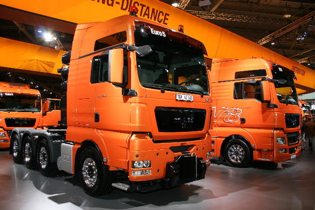 En Hannover se vio la totalidad de modelos disponibles en Europa.