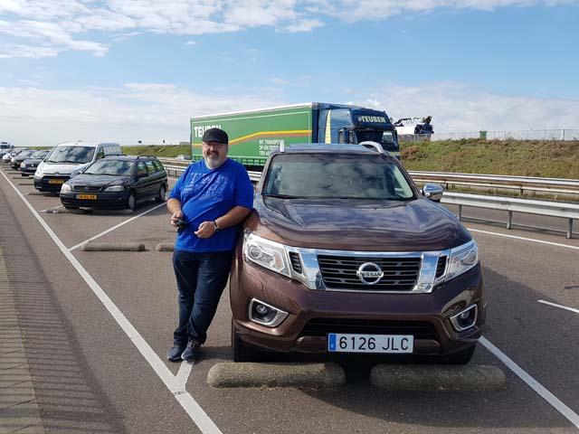 Comprobamos las cualidades ruteras del nuevo Nissan Navara camino de Hannover, Alemania.