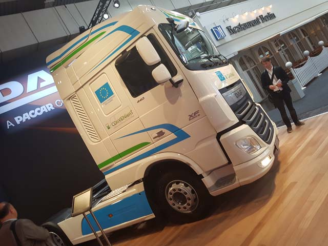 DAF aporta nuevas tecnologías al aprovechamiento de energía.