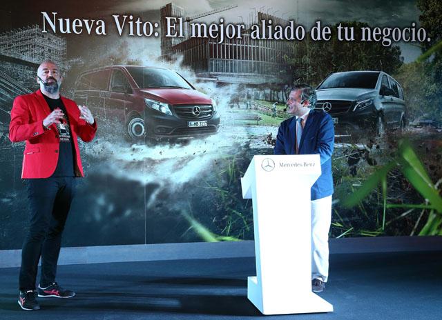 Presentaci n de la nueva furgoneta vito en madrid for Oficinas de dhl en madrid