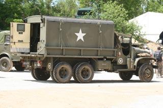 El camión GMC 6x6, uno de los protagonistas de la Segunda Guerra Mundial.