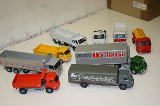 Modeltrans ha devuelto a la vida los antiguos vehículos industriales.