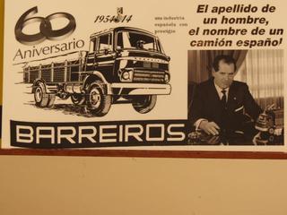 En 2014 se cumplen 60 años del inicio de la marca Barreiros.