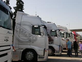 Los fans de los Volvo FH tampoco faltaron en la concentración de Torrelavega 2011.