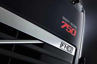 El FH16 750 CV conmemora el 25º aniversario del primer Volvo F16.