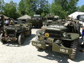 Los modernos todoterrenos nacían para acercar el campo de batalla a las tropas.