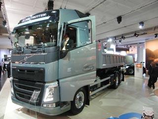 El Volvo FH de nueva generación también protagonizó el IAA 2012.
