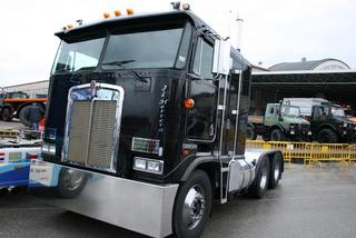 El Kenworth K100 fue el ltimo Ken chato en recorrer las rutas USA.