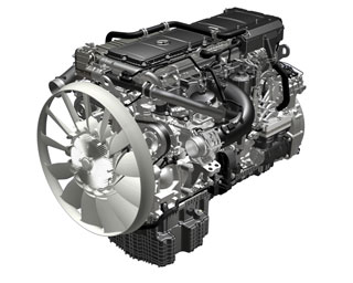 Mercedes Benz ha presentado ya el primer motor diesel para pesados Euro VI.