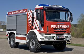 Iveco Magirus es uno de los pocos fabricantes de vehiculos de bomberos al completo.