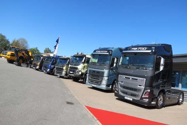 Volvo Trucks domina el mercado de pesados 2016, gracias a la buena aceptación de sus tractoras FH.
