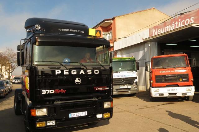Pegaso y Barreiros, la disyuntiva camionera hace más de dos décadas para el transportista español.