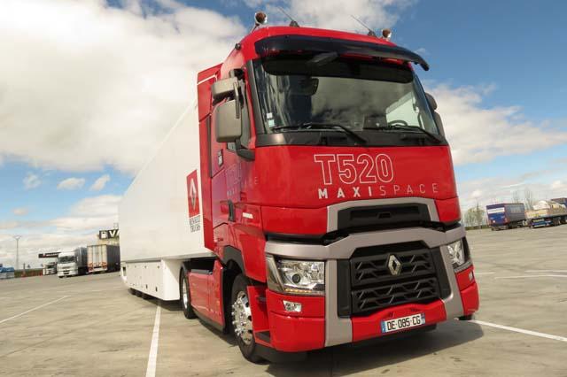 Renault Trucks mejora aún más los consumos de sus camiones de la Gama T.