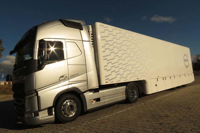 El Volvo FH 500 ofrece un buen equilibrio entre prestaciones y ahorro de combustible.