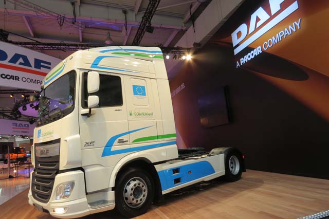 DAF XF Innovation Truck.