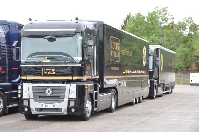 Renault Magnum f1 Team Los Renault Magnum Del Team