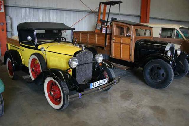 En los años 20 los primeros camiones trabajaban en nuestro país.