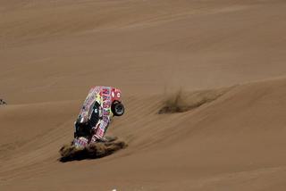 Hay que vigilar al saltar dunas...