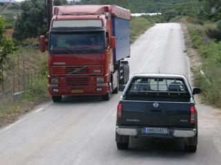 Las carreteras convencionales de un sólo carril por sentido resultan ser las más peligrosas.
