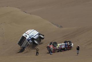 Para los camiones la misma duna...