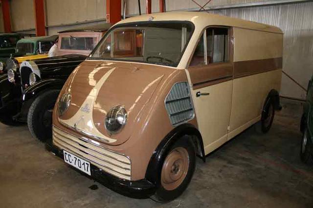 La auténtica DKW, que dio nombre a un tipo de furgón ligero en España.
