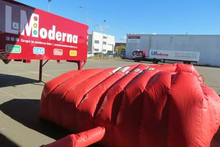 La caseta puede montarse en cualquier las empresas que quieran hacer el curso de simulacro de incendio