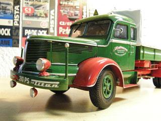 Los Krupp Titan en los años 50 llamaban la atención por su cabina dormitorio y los motores de gran potencia.