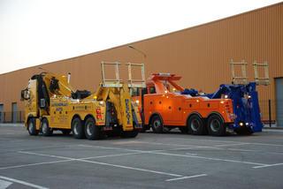 Los modelos sobre camión pesado pueden incorporar el máximo de accesorios y sistemas hidráulicos.
