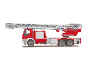 La base de las grúas pesadas se constituye en chasis tres ejesy 26 toneladas de la gama Stralis o Trakker según modelos.
