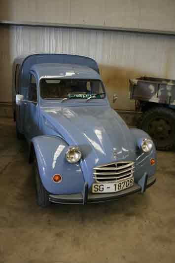 El 2CV Citroën se convertiría en un clásico del transporte más ligero.
