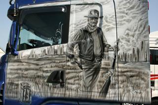 John Wayne fue otra de las estrellas del género de cowboys e indios.