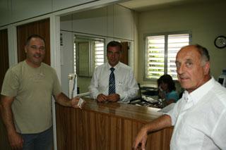 Joan Boixadera mantiene mantiene el contacto con sus antiguos compañeros de Cotraman.