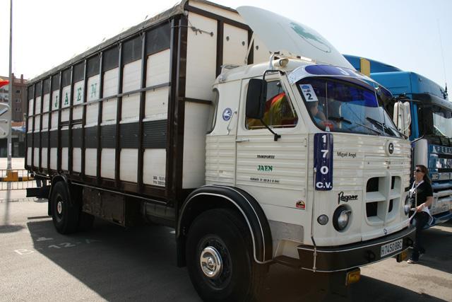 Cuando al motor de 170 CV del Europa se le unía el grupo largo estos camiones eran de los más veloces en la ruta.