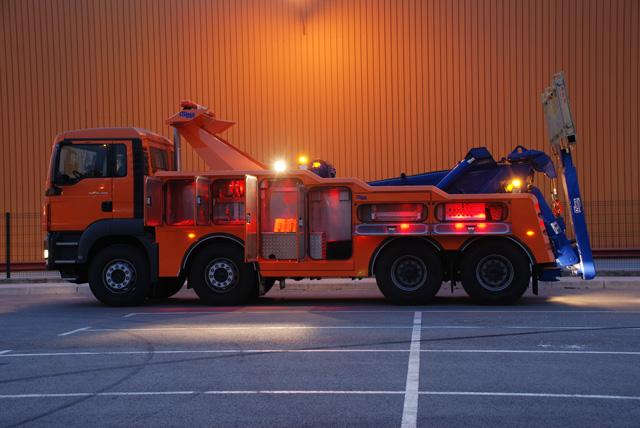 La oferta cubre modelos de hasta 32 toneladas de MMA aptos para el rescate de todo tipo de camiones pesados.
