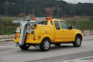 Los modelos más ligeros se pueden montar sobre una pick up.