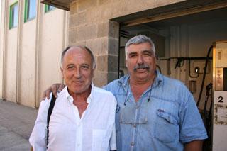 Juan Valencia junto a Joan Boixadera, han recorrido muchos kilómetros juntos.