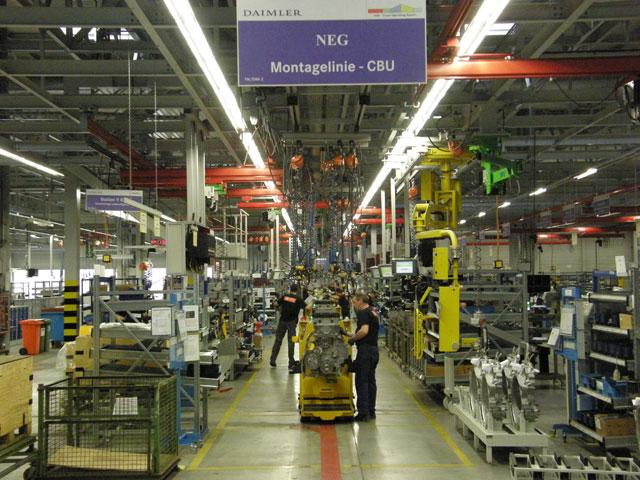 La planta de Manheim se pone al frente de la tecnología mundial en motores diesel pesados.
