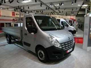 El Master marca el segmento más ligero en la oferta de Renault Trucks.