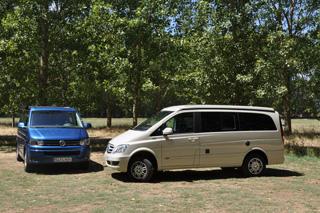 En esta versión el Viano Marco Polo ofrece más longitud de habitáculo, más potencia y tracción 4 Matic.