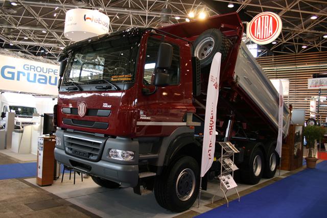 cosas de camiones tatra en su nueva etapa paccar