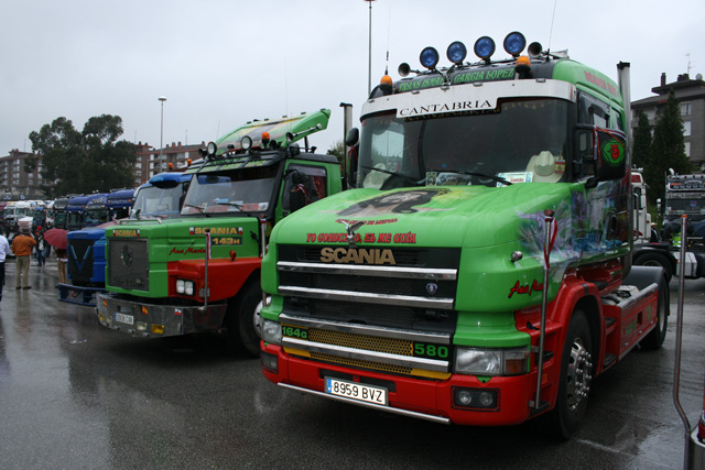 La evolución de los Scania cabina torpedo a lo largo de los años.