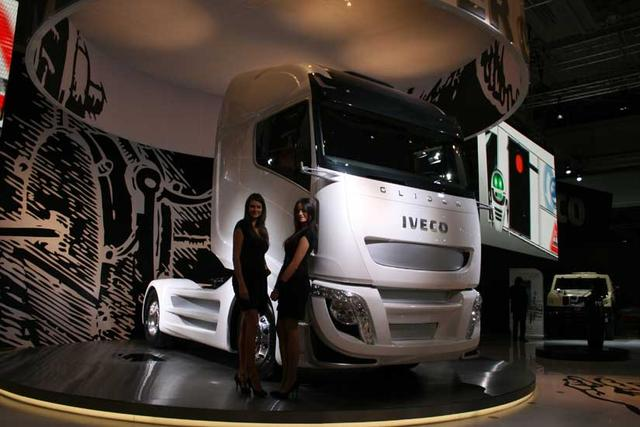 El Glider es un proyecto de camión que a buen seguro nos anticipa la generación que sustituya al Stralis en 2014.