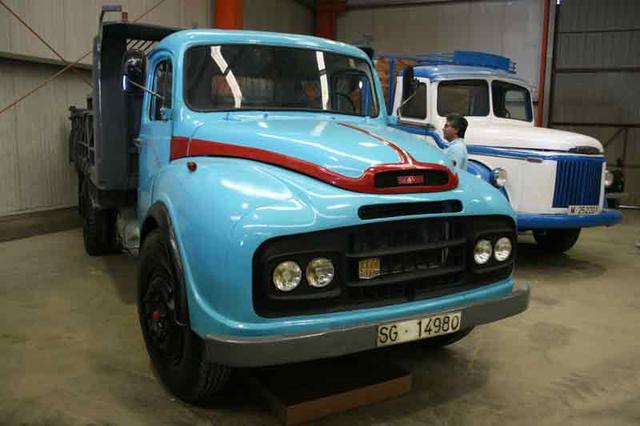 En los 60 los primeros Volvo venidos a nuestro país coexistían con los SAVA licencia BMC.