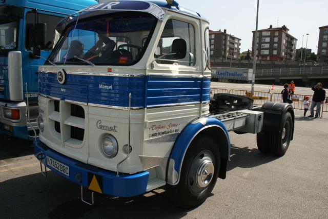 Una rarísima unidad de Pegaso Comet en versión tractora.
