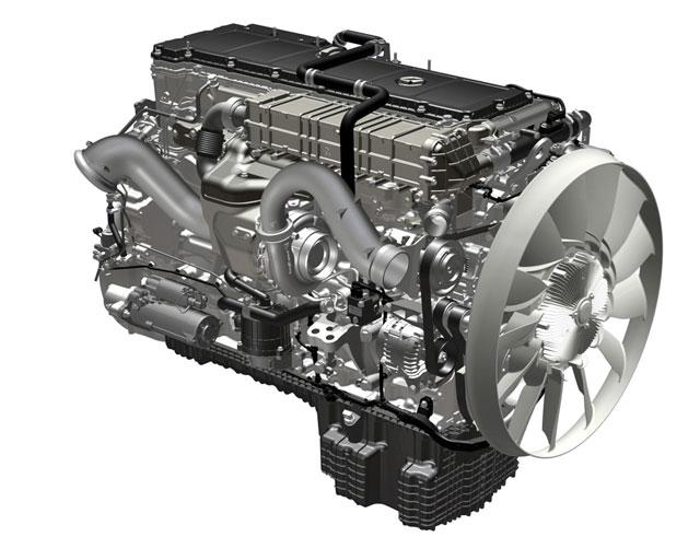 Este seis cilindros en línea de 12,8 litros se ofrecerá con potencias entre 421 y 510 CV.