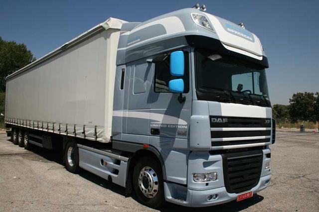 La tractora DAF XF Limited Edition se ofrece en versión 460 y 510CV.