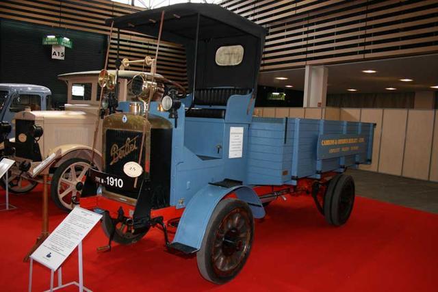 Este camión Berliet fue fabricado en 1910 y descubierto para su restauración en los años 80.