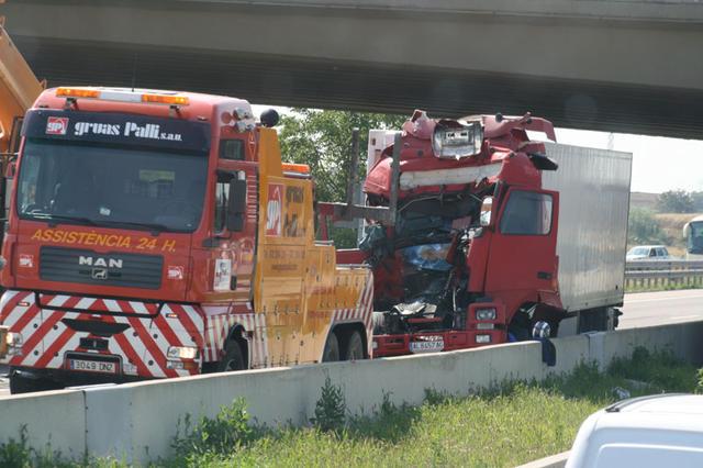 El estudio señala la fatiga del conductor como uno de los principales peligros.