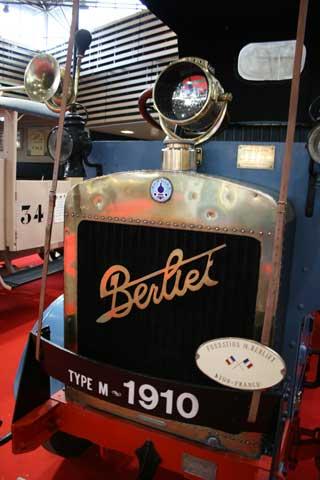 El modelo Type M se fabricó entre 1909 y 1913 y fue el primer camión Berliet.